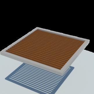 Pergola semplice legno Modulo base